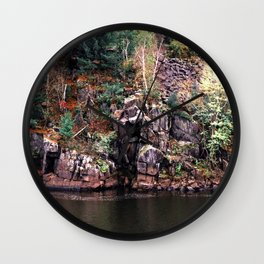 St. Croix River-Minnesota and Wisconsin Nature Wall Clock