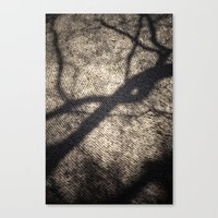 shadow Canvas Prints featuring Shadow by Maria Heyens