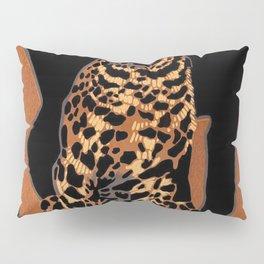 Vintage Munich Zoo Leopard 1912 Advertisement Pillow Sham