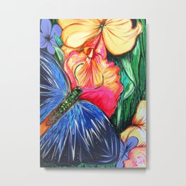 Butterfly Life Metal Print