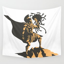 perseus holding the head of the medusa Wall Tapestry