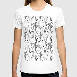 Llama Llamarama + Cactus 2 T-shirt