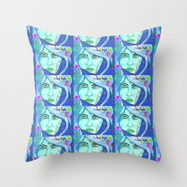 No More Shattered dreams  Throw Pillow