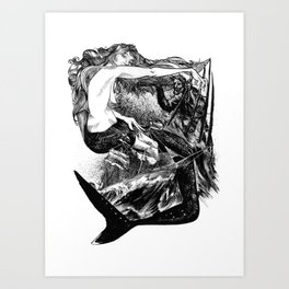 The Siren Art Print