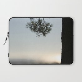 Pine tree trunk and branch Laptop Sleeve