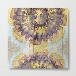 Tofu Unclothed Flower  ID:16165-030907-41931 Metal Print