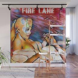 Fire Lane Wall Mural