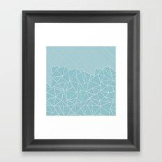 Ab Lines 45 Sea Framed Art Print