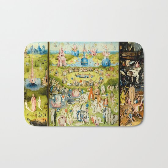 The Garden of Earthly Delights by Bosch Bath Mat