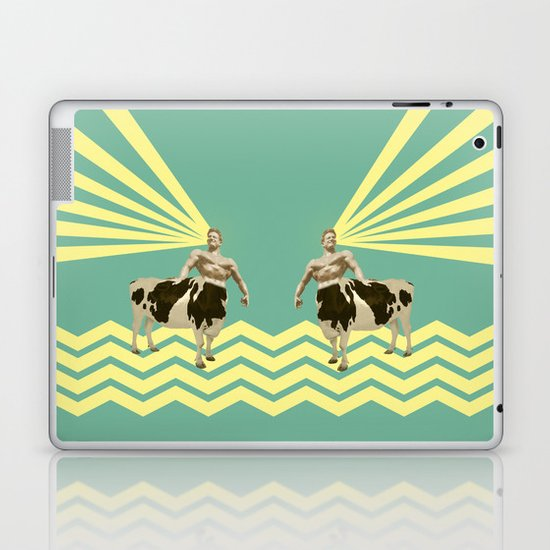 The real muscular cow-boy  Laptop & iPad Skin