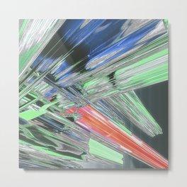 vertical destruct Metal Print