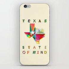 Texas State Of Mind iPhone Skin