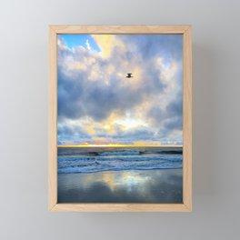 Above the Sea Framed Mini Art Print