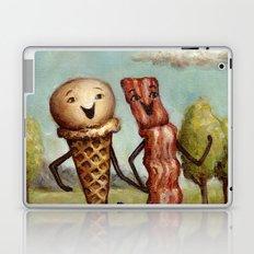 Bacon Loves Ice Cream Laptop & iPad Skin