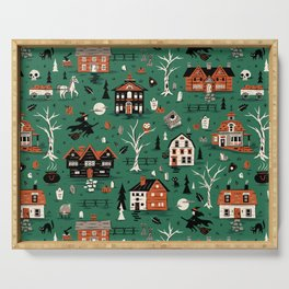 Salem Witches Serving Tray