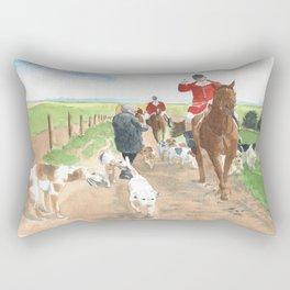 Foxhunt 3 Rectangular Pillow