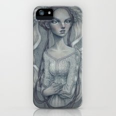 White Wedding Slim Case iPhone SE