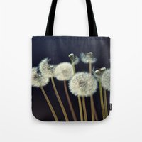 coconut wishes Tote Bags featuring {wishes} by Patti Toth McCormick