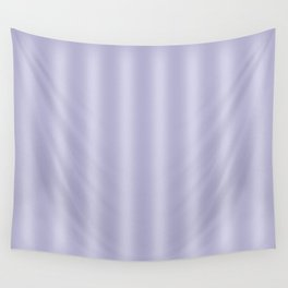 Frosted Lilac Stripes Wall Tapestry