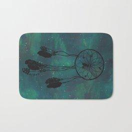 Dreamcatcher (teal) Bath Mat
