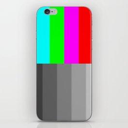 Tv screen iPhone Skin