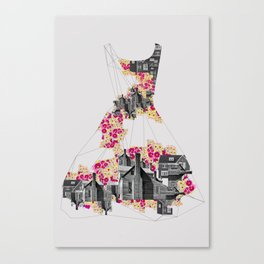 FILLED WITH CITY II Canvas Print