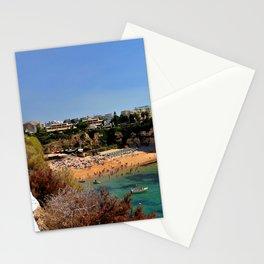 Praia de Nossa Senhora da Rocha The Algarve Portugal Stationery Cards