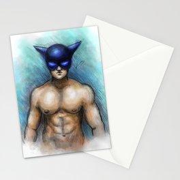 Cat boy Stationery Cards
