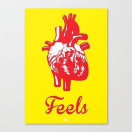 Feels Canvas Print