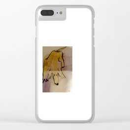 My Hot dog Clear iPhone Case
