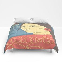 Sacagawea Portrait Comforters