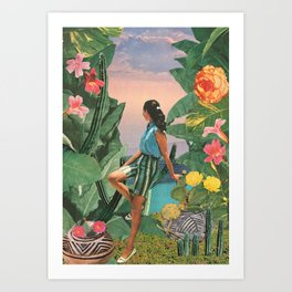 Botanical Cove Art Print