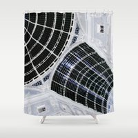 milan Shower Curtains featuring Milan 2 by Alev Takil