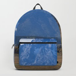 Buffalo and Mountains Backpack