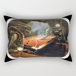 Predator V Alien Rectangular Pillow