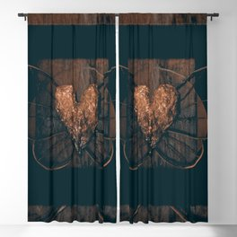 Elysium 2q by Kathy Morton Stanion Blackout Curtain