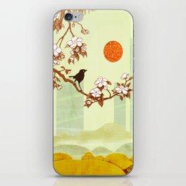 Cherry Branch iPhone Skin