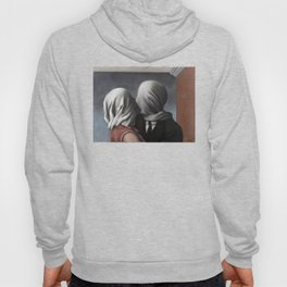 The Lovers II (Les Amants) 1928, Artwork Rene Magritte For Prints, Posters, Shirts, Bags Men Women K Hoody