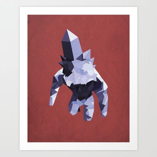 Crystal Golem Art Print