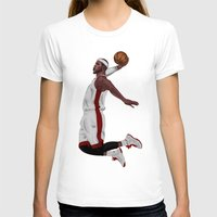 lebron T-shirts featuring Lebron James by siddick49
