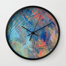 Abstract and Constructive expression Wall Clock