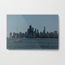 Sail Chicago Metal Print