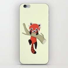 Red Panda iPhone & iPod Skin
