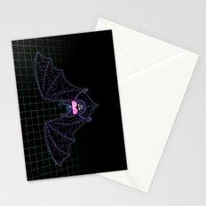 Neon Bat Stationery Cards