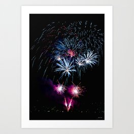 Happy New Years 2011 Art Print