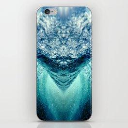 ocean vortex iPhone Skin