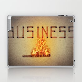 fired business Laptop & iPad Skin