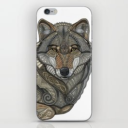 Norse Wolf iPhone Skin