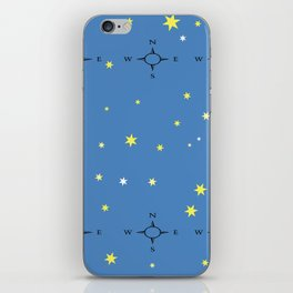 Directional Compass iPhone Skin
