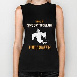 Spooktacular Halloween Biker Tank